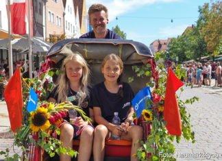 """JURA-Volksfest-Festzug - """"Neumarkt erLEBEN – des taugt ma!"""""""