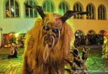 Die Oberpfälzer Schlossteufeln zu Gast auf dem Weihnachtsmarkt in Neumarkt 2018