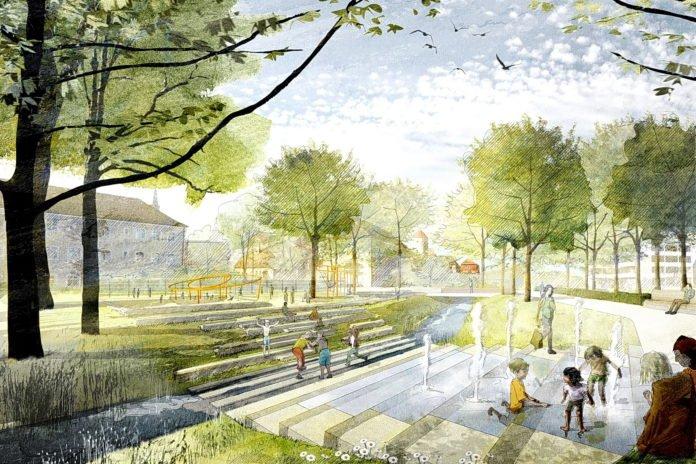 Illustration Stadtparkerweiterung
