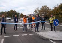Verkehrsfreigabe zwischen Stauf und Neumarkt Foto: M. Krejci